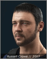 Russell Crowe - 3d model